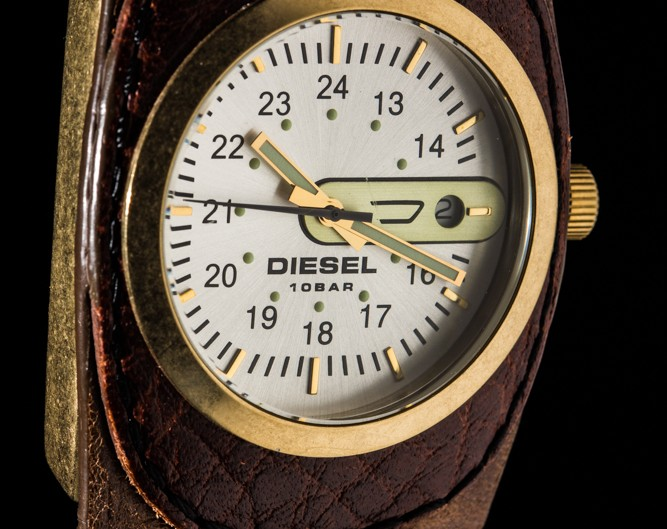 Gold Face Diesel