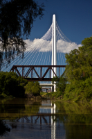 Hunt Bridge, River, Trinity